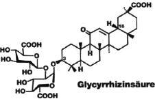 Abb. 3: Die Glycyrrhizinsäure.