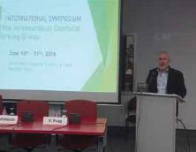 Abb.1: Prof. Salvador Gonzalez leitete das 1. ICWG Welt-Symposium.
